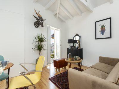 appartement brocante salon